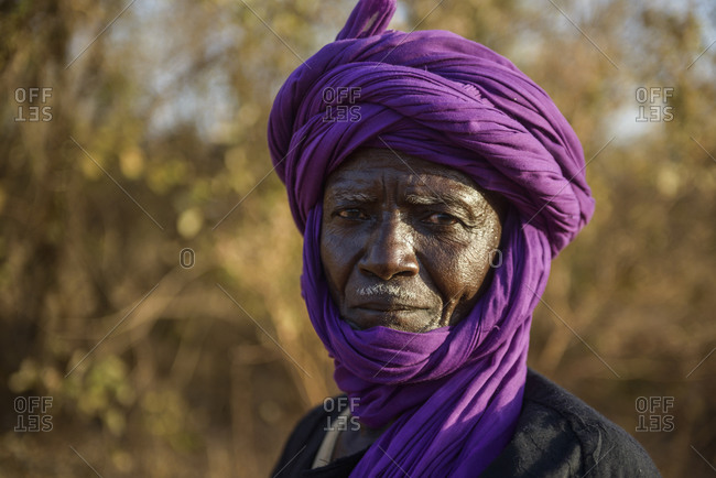 March 10,  2016: A man from the Peul ethnic group of The Gambia