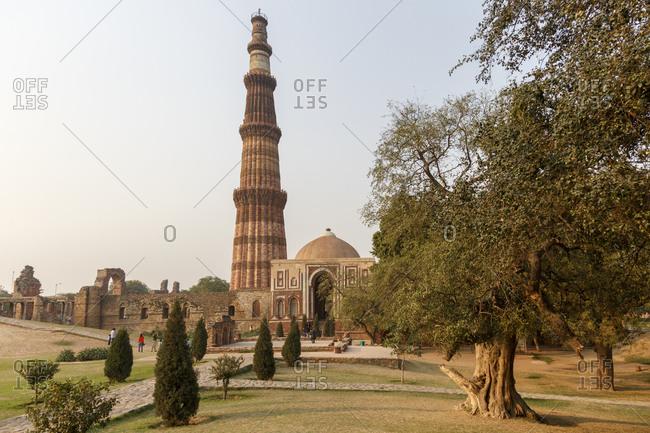 Victory Column Qutb Minar and Qutb Complex, Delhi, India