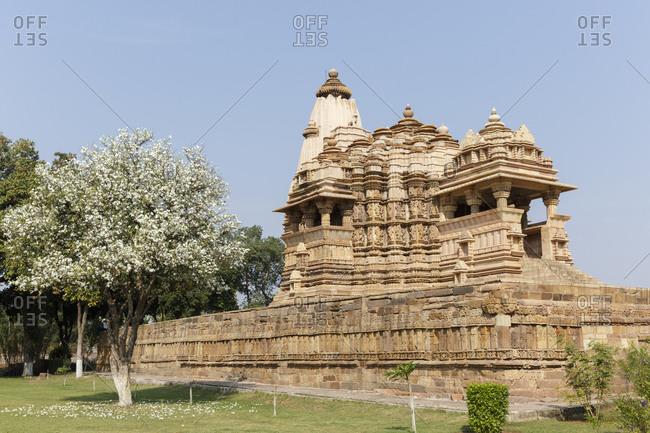 Chitragupta Temple, temple district of Khajuraho, Khajuraho, Madhya Pradesh, India