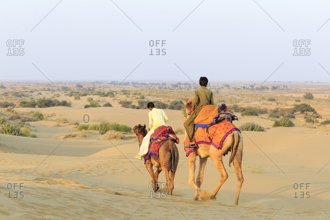 Camel Safari, Guide, Thar Desert, Rajasthan, India