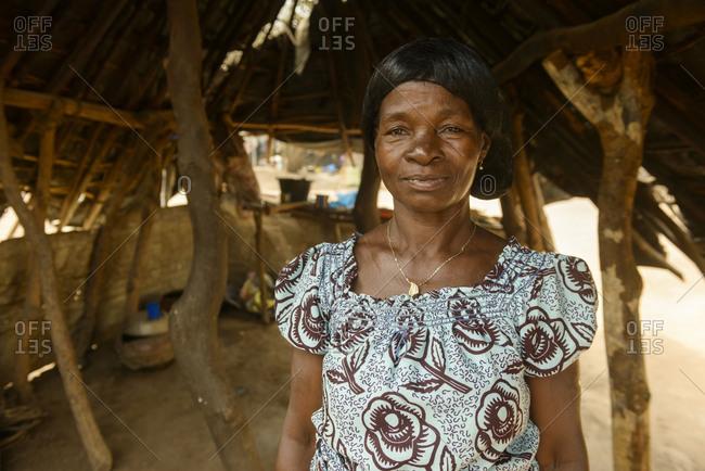 February 6,  2016: Portraits of Ivorians, Cote D'Ivore (Ivory Coast)