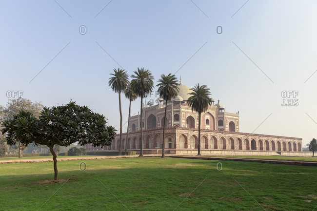 The Humayun's Tomb in Delhi, India