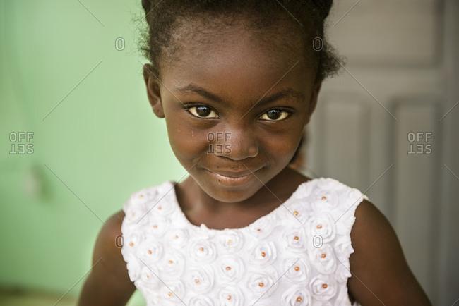February 5,  2016: Portraits of Ivorians, Cote D'Ivore (Ivory Coast)