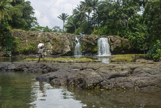 January 14,  2016: Southern Sao Tome island