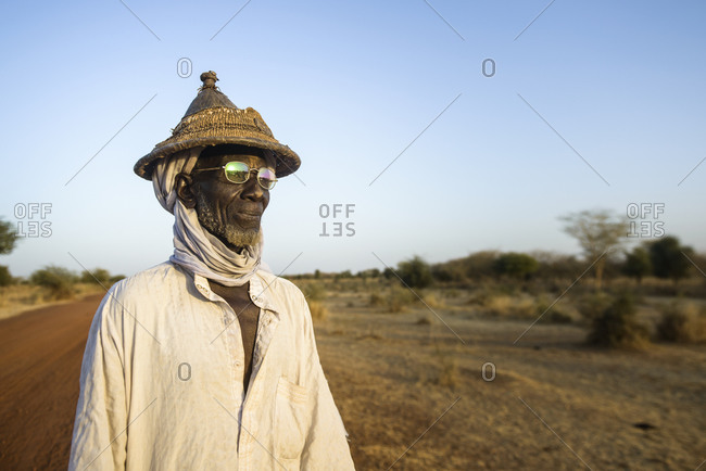 December 19,  2015: Fulani nomads of the Bel'ah group of the Sahel, Burkina Faso