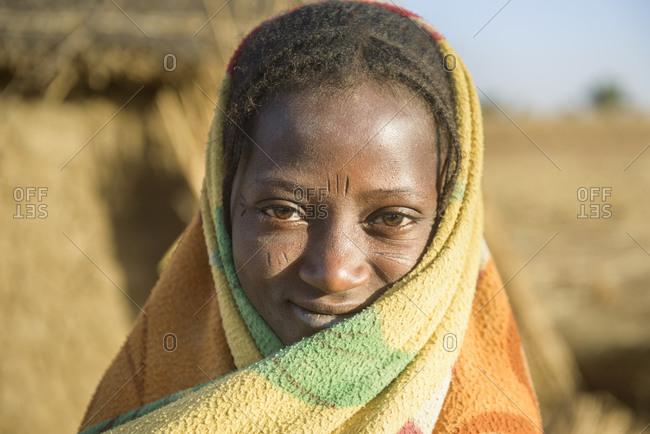 December 20,  2015: Fulani nomads of the Sahel, Burkina Faso
