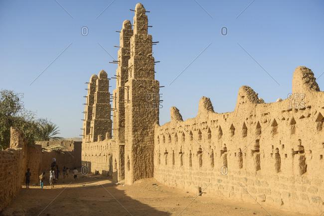 Grand Mosque of Bani, Burkina Faso