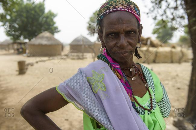December 11,  2015: Rural life in a Fulani village of the Sahel in northeastern Burkina Faso