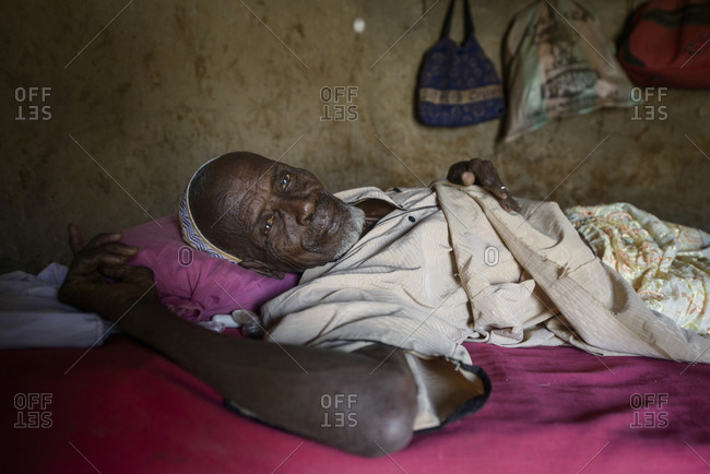 December 8,  2015: An old man of northern Togo