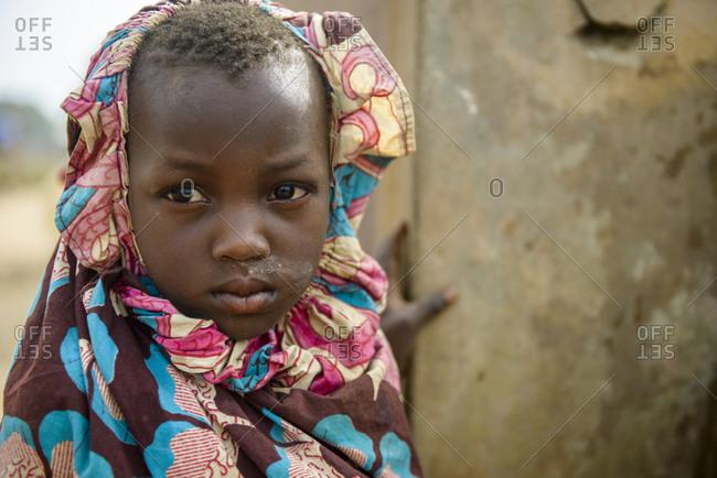 December 5,  2015: Girl of northern Benin, Africa