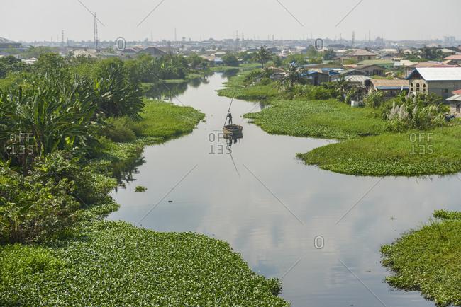 The floating slums of Lagos, Nigeria