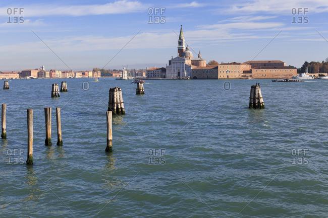 November 7,  2015: San Giorgio Maggiore,  Venice,  Italy