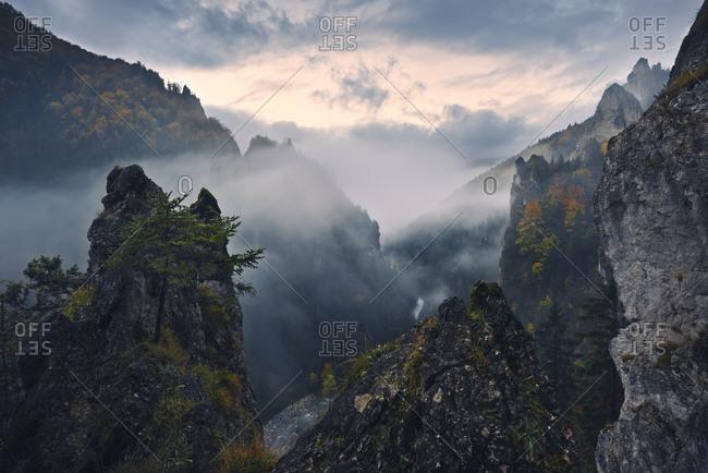 Autumn in the Mali Fatra, Mali Fatra, Carpathian Mountains, Slovakia, Europe