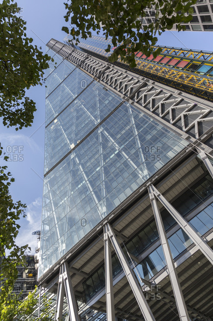September 11,  2015: 122 Leadenhall Street, commonly known as the Cheese grater, London, United Kingdom