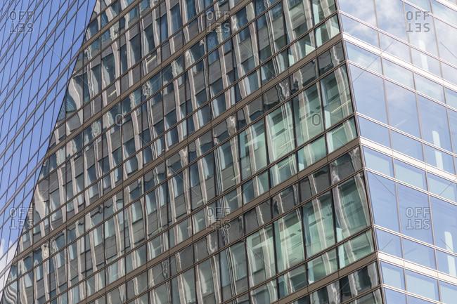 Building facades, Victoria Street, London, United Kingdom
