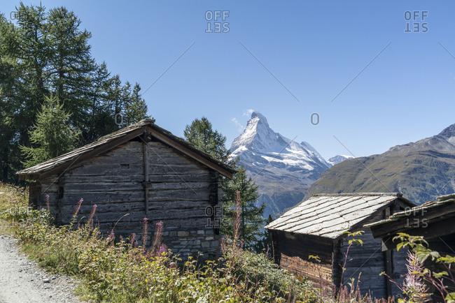 The Matterhorn with Tufteren, Zermatt, Switzerland