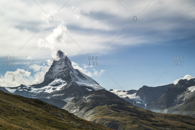 Summit of the Matterhorn, Switzerland