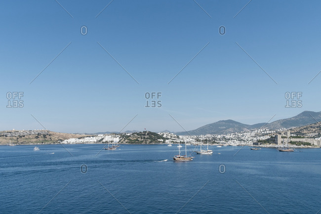 Port of Bodrum,  Mu? La province,  Aegean,  Turkey