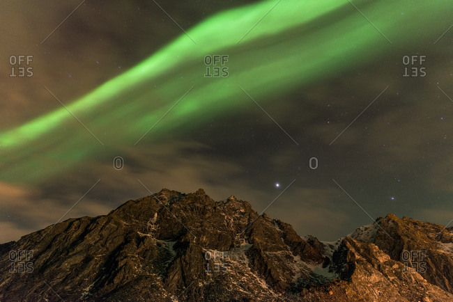 Aurora over Andenes, Andaya Island, Veteran, Norway
