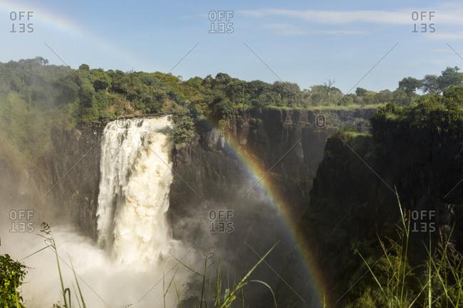 Victoria Falls seen from Victoria Falls, Zimbabwe, Africa