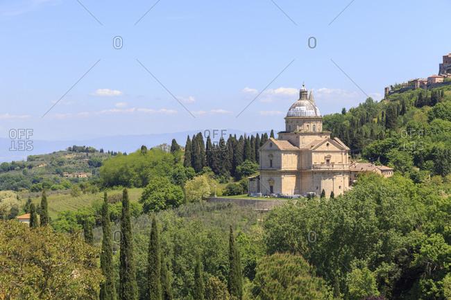 The Church of Madonna di San Biagio, Montepulciano, Tuscany, Italy