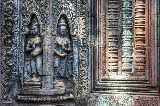 Cambodia, Siem Reap, Angkor Wat Complex (Unesco Site), Ta Prohm temple