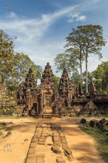 Cambodia, Siem Reap, Angkor Wat Complex (Unesco Site),  Banteay Srei temple