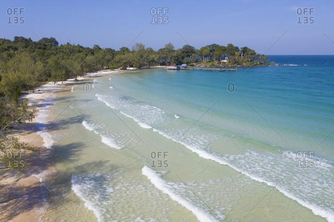 Cambodia, Sihanoukville, Koh Rong Samloem Island, Lazy Beach