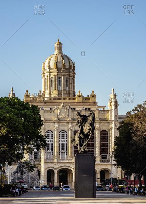 Cuba - March 25, 2019: Museum of the Revolution, former Presidential Palace, La Habana Vieja, Havana, La Habana Province, Cuba