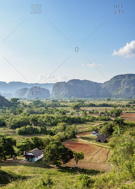 Vinales Valley, elevated view, UNESCO World Heritage Site, Pinar del Rio Province, Cuba