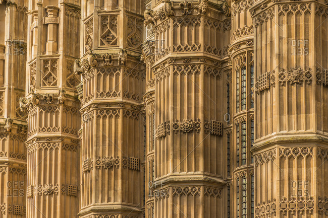 Westminster Abbey, a UNESCO World heritage site, London, England