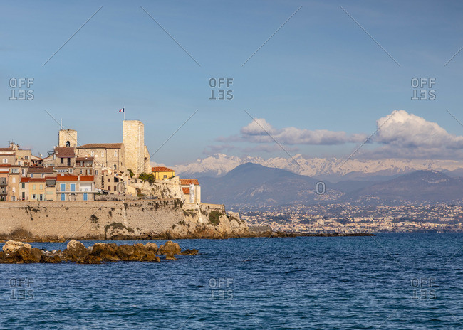 Old Town of Antibes, Antibes, South of France,