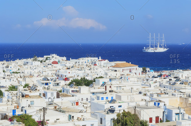 Mykonos Town, Mykonos, Cyclades Islands, Greece
