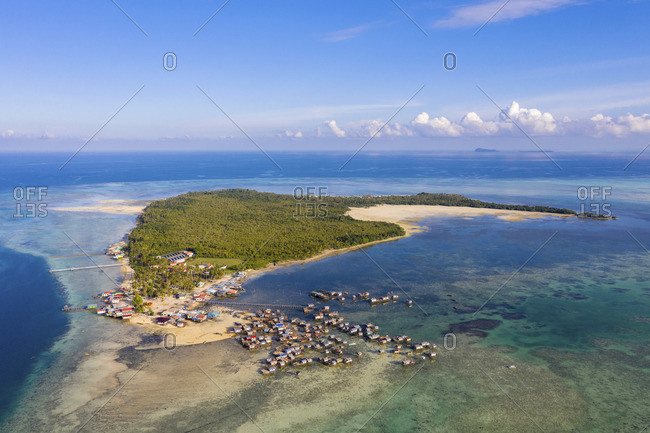 Omadal Island, Tun Sakaran Marine Park, Semporna, Sabah, Borneo, Malaysia