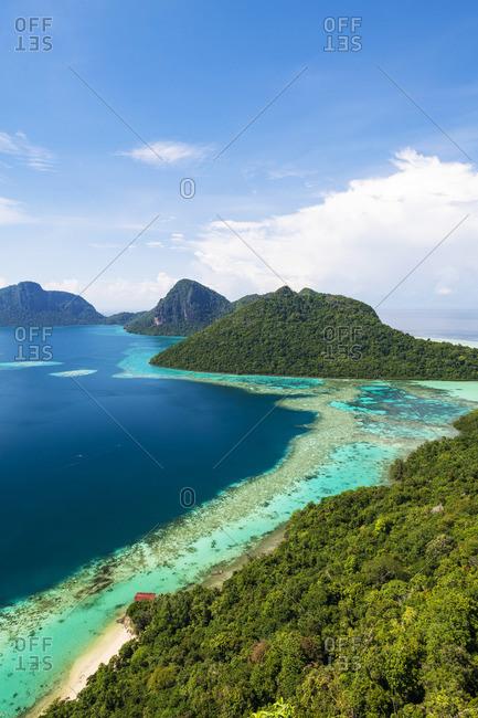 Bodgaya Island, Tun Sakaran Marine Park, Semporna, Sabah, Borneo, Malaysia