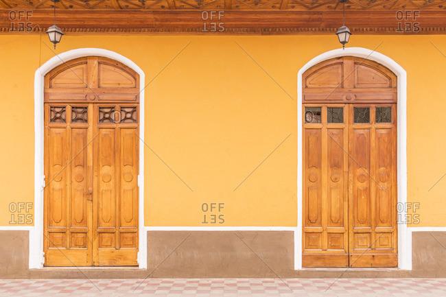 Local architecture, Granada, Nicaragua