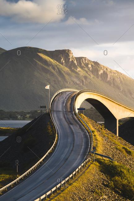 Storseisundet Bridge along the Atlantic Ocean Road, More og Romsdal, Norway
