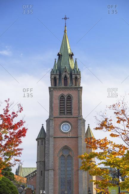 Myeongdong Cathedral, Seoul, South Korea