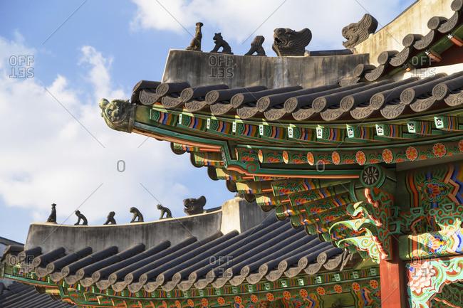 Changdeokgung Palace (UNESCO World Heritage Site), Seoul, South Korea