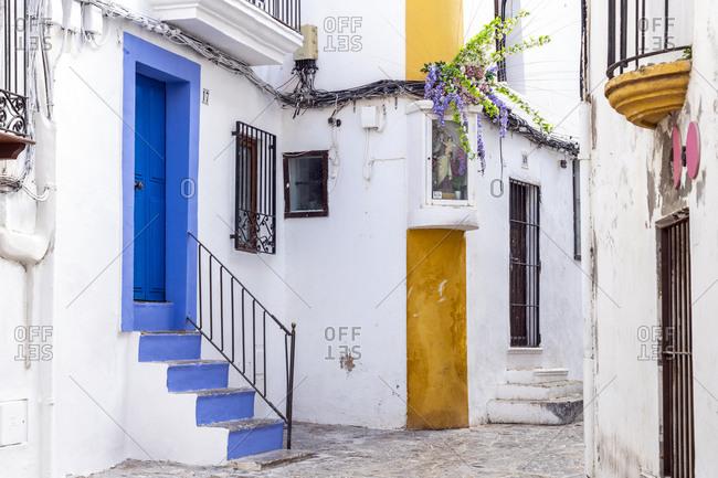Dalt Vila old town, Ibiza, Balearic Islands, Spain