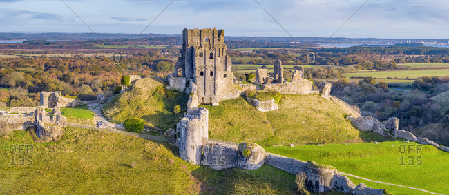 UK, England, Dorset, Corfe Castle