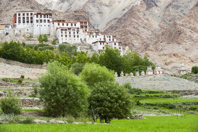 Likir Monastery in Ladakh in India