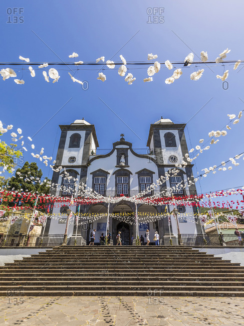 - May 31, 2019: Portugal- Madeira Island- Funchal Monte- Nossa Senhora do Monte pilgrimage church
