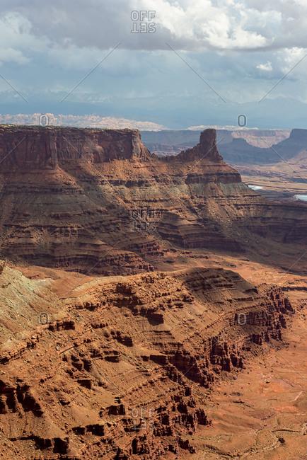Morning view at Canyonlands National Park