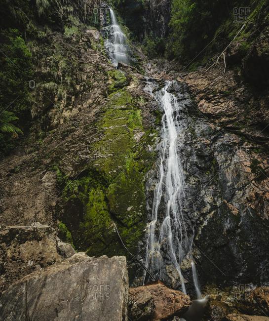 Montezuma Falls in Tasmania, Australia