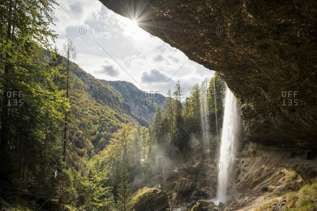 Pericnik Waterfall, Triglav National Park, Upper Carniola, Slovenia