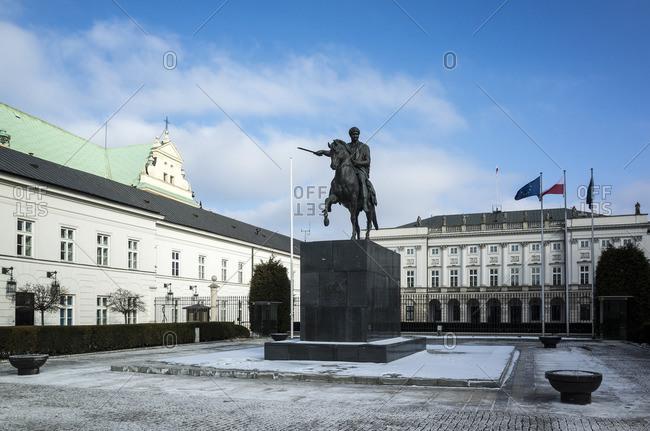 January 1, 1970: Presidential Palace, Warsaw, Poland