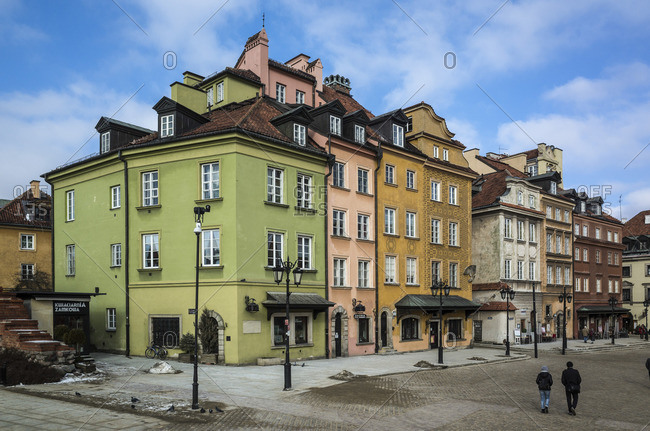 January 1, 1970: Old Town, Warsaw, Poland