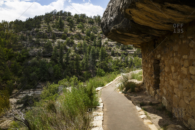 Walnut Canyon National Monument, Arizona, USA