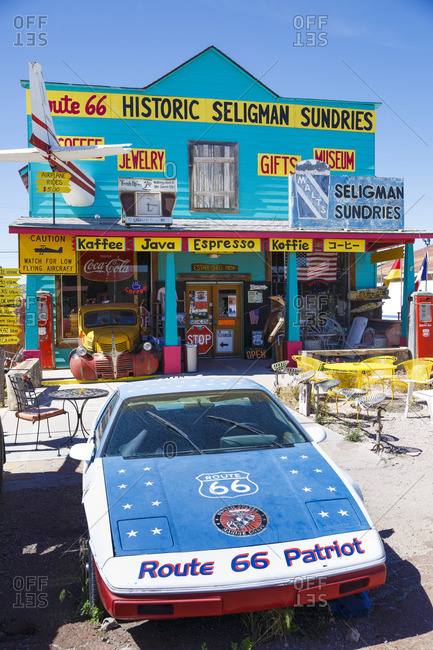 January 1, 1970: Historic Seligman Sundries, Seligman, Arizona, Historic Route 66, United States